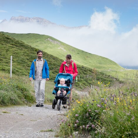 hiking with kids switzerland | © Tourismus Savognin Bivio Albula AG