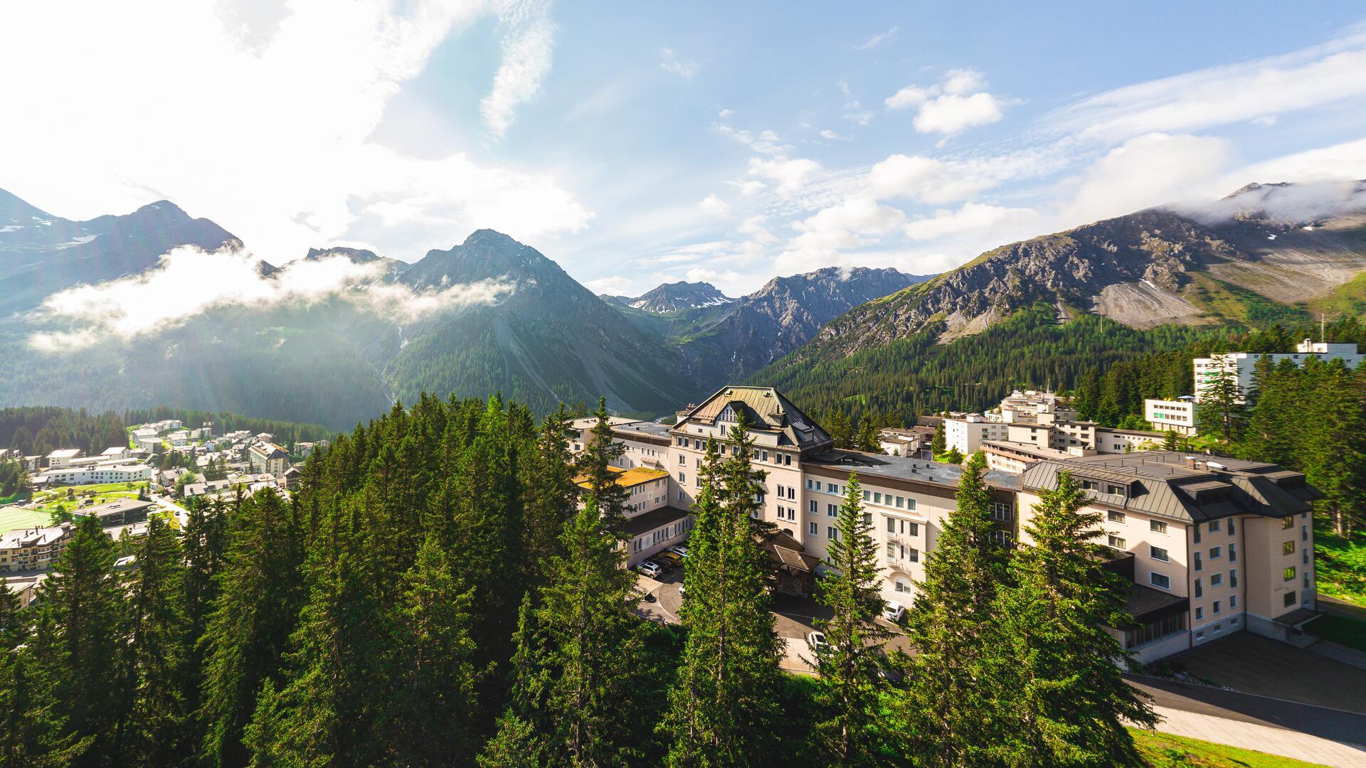 4 S Waldhotel Arosa In Graubunden Entspannung Genuss Waldhotel